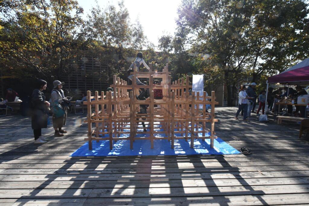 岐阜森林文化アカデミーにて、くむんだー出展しました。
