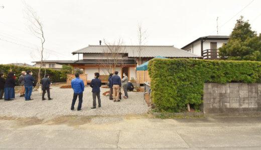 静岡の石場建て 完成見学会